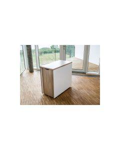 SM101 Multifuntionsbord i hvid laminat - Udstillings model