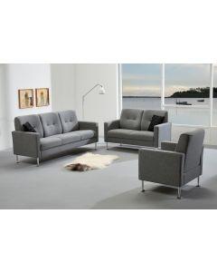 Symfoni 3 pers. sofa med springindlæg